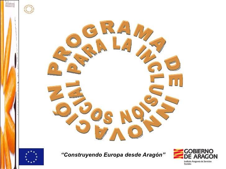 Programa De Innovacion Esquema Resumen