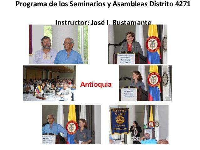 Asamblea de Distrito 2014 y Asambleas Distrito 4271