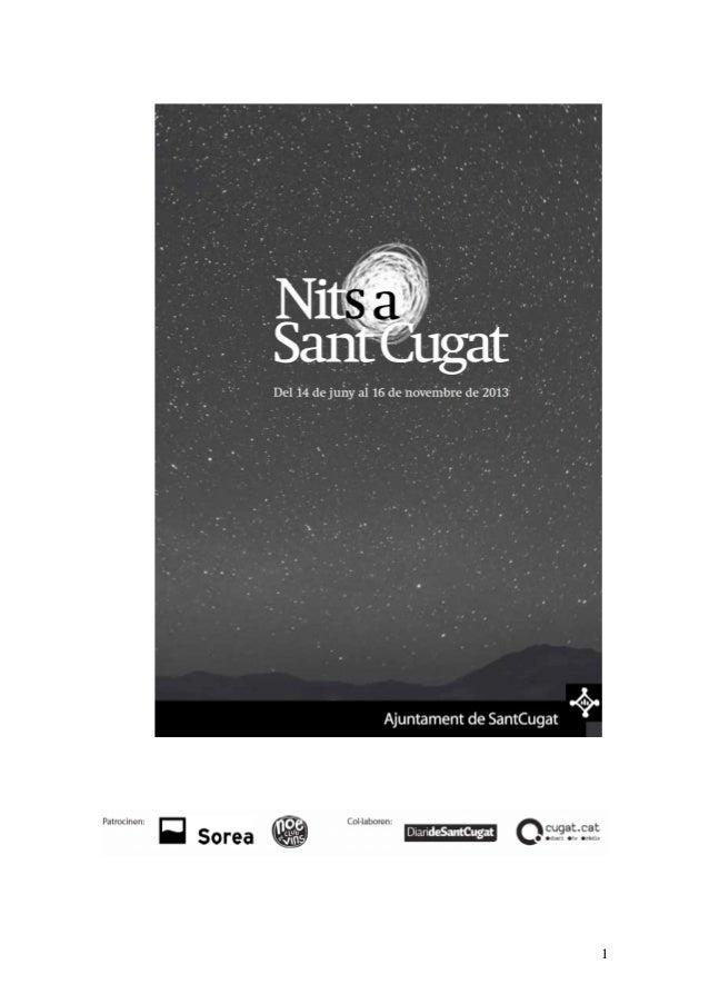 #NitsaSantCugat 2013
