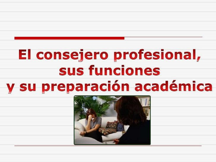 Programa de Orientación y Consejería Graduado UCB