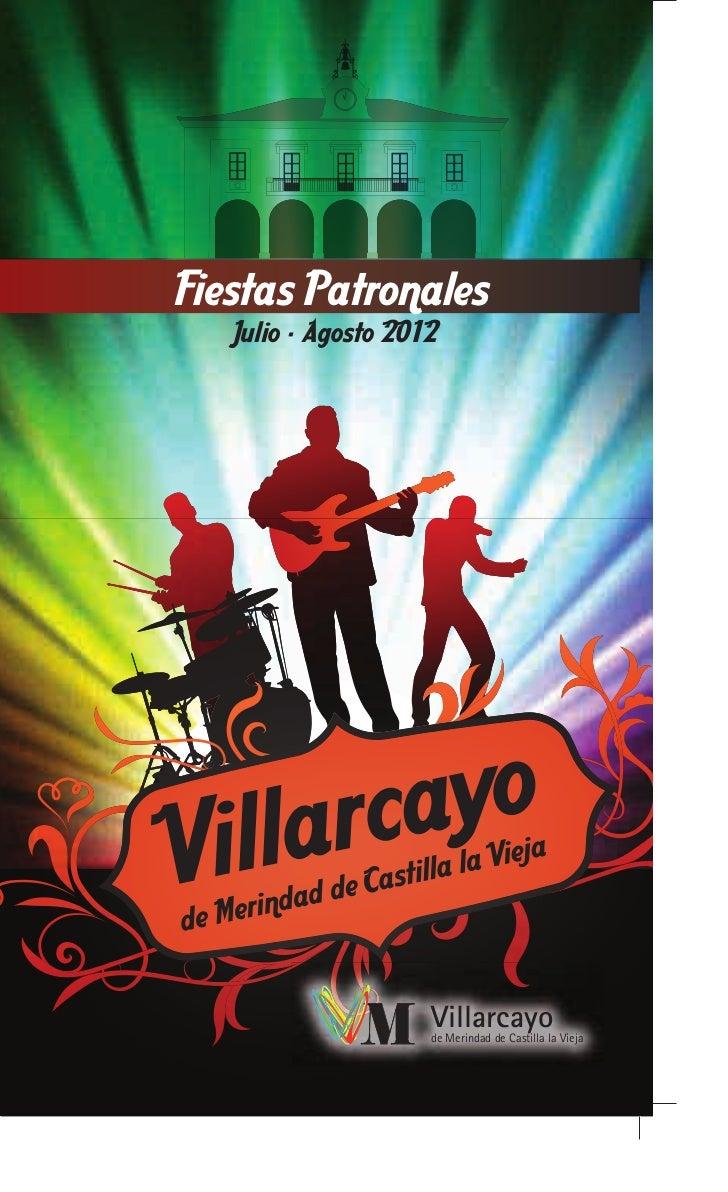 Programa de Verano Villarcayo 2012
