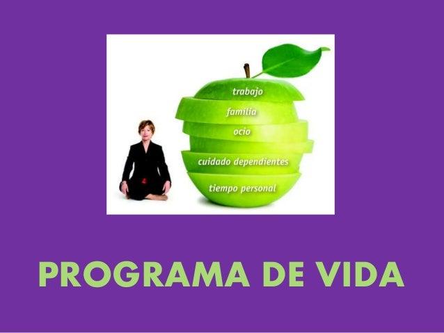 PROGRAMA DE VIDA