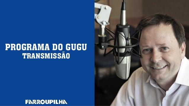 Programa do gugu transmissão 27.08