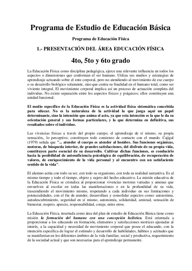 Programa e.f cbn-4to-5to-6to grado-descripcion de bloques de contenido-presentacion-orientaciones