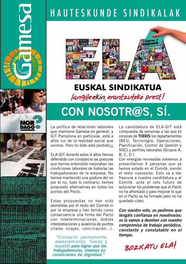 Programa ela elecciones 2011
