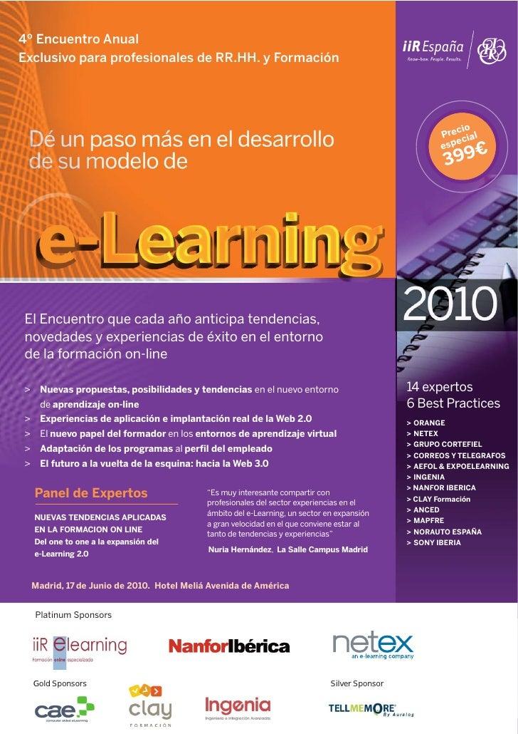 4º Encuentro Anual Exclusivo para profesionales de RR.HH. y Formación                                                     ...