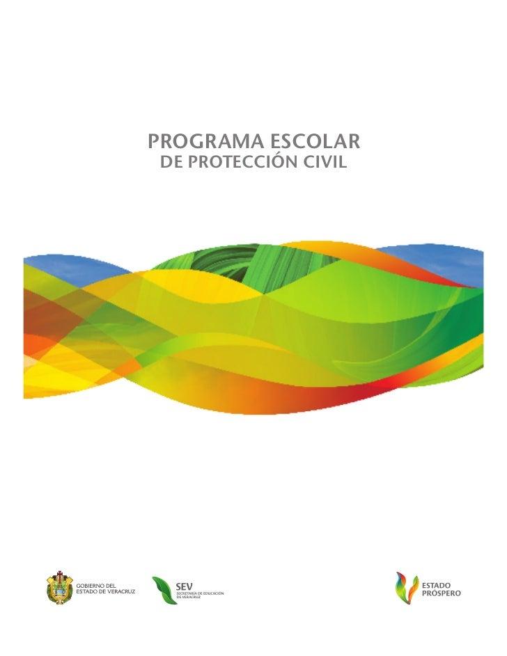 PROGRAMA ESCOLARDE PROTECCIÓN CIVIL