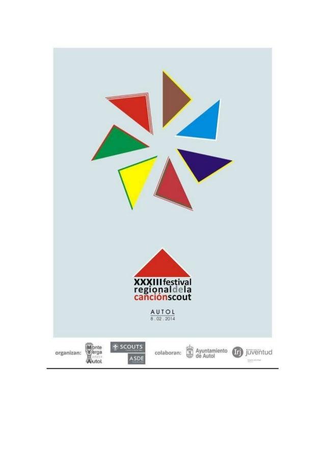 PROGRAMA  - 09:30 horas Recepción del material en el polideportivo. - 09:45 horas, inauguración del Festival. Parque de lo...