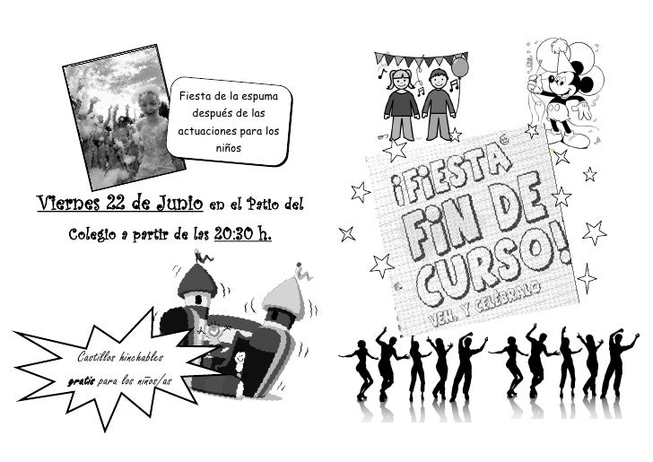 Programa fiesta 2012