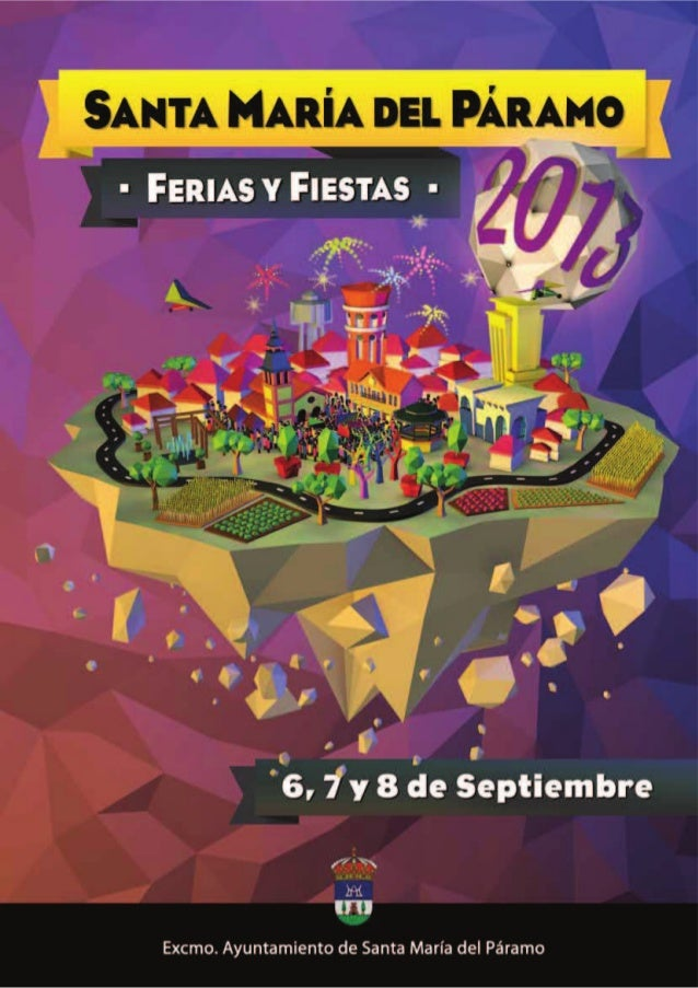Ferias y Fiestas 2013 Santa María del Páramo Domingo2