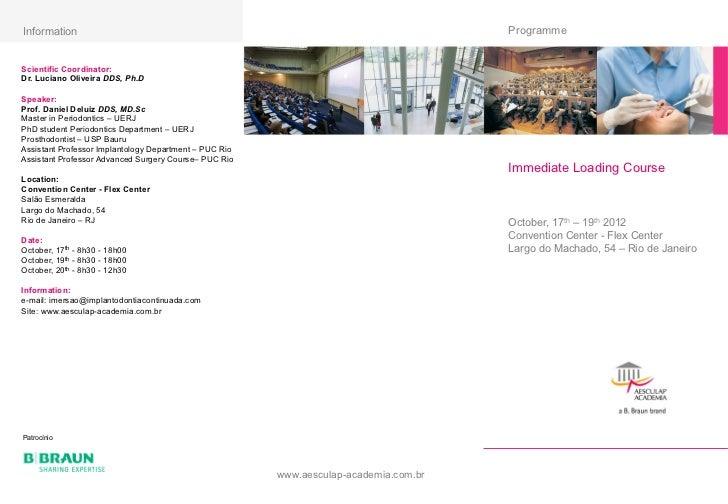 Information                                                                                            Programme        ...