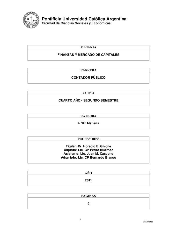 Programa fmk 2011   2do. sem.