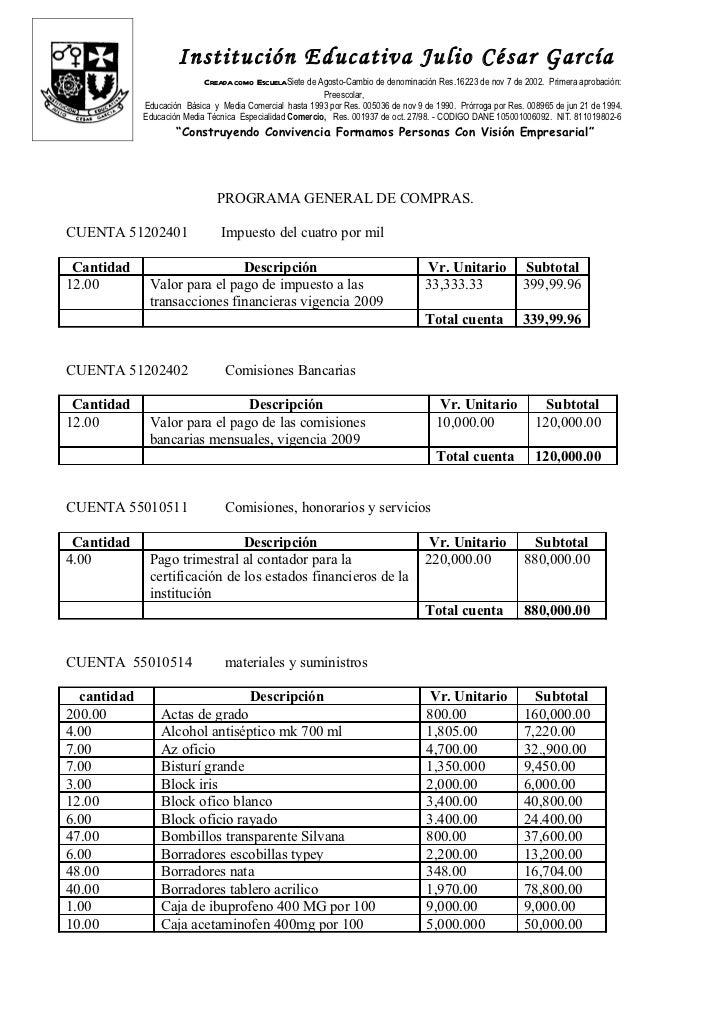 Institución Educativa Julio César García                            Creada como EscuelaSiete de Agosto-Cambio de denominac...