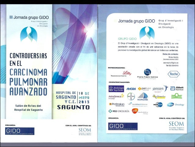 Programa III Jornada GIDO 2013