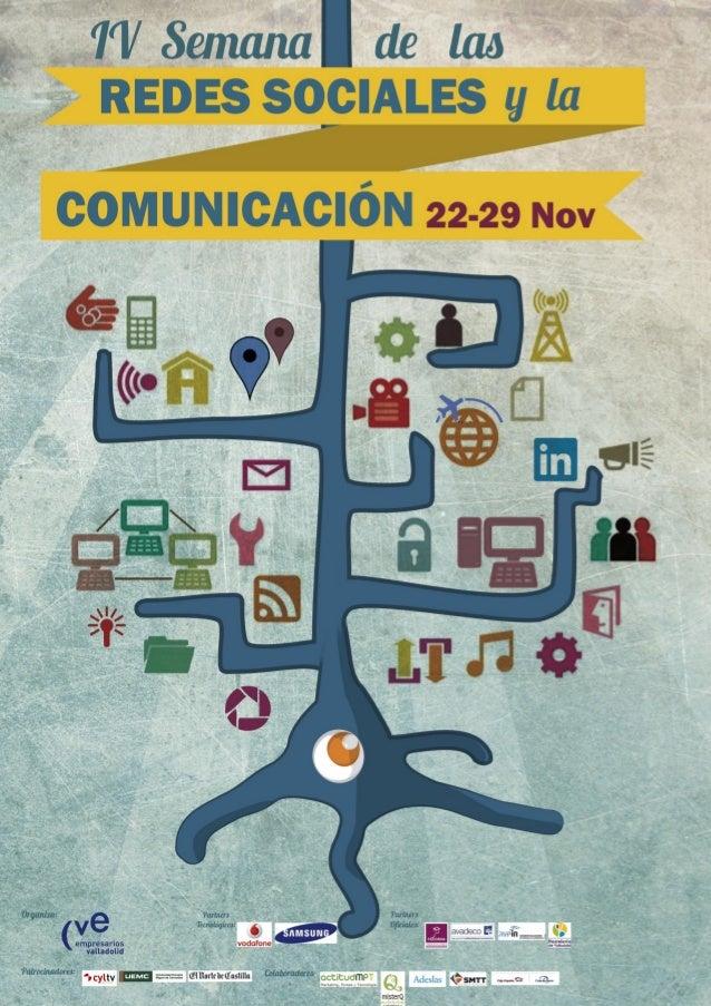 Programa de la IV Semana de las Redes Sociales - Valladolid - 25-29 noviembre 2013