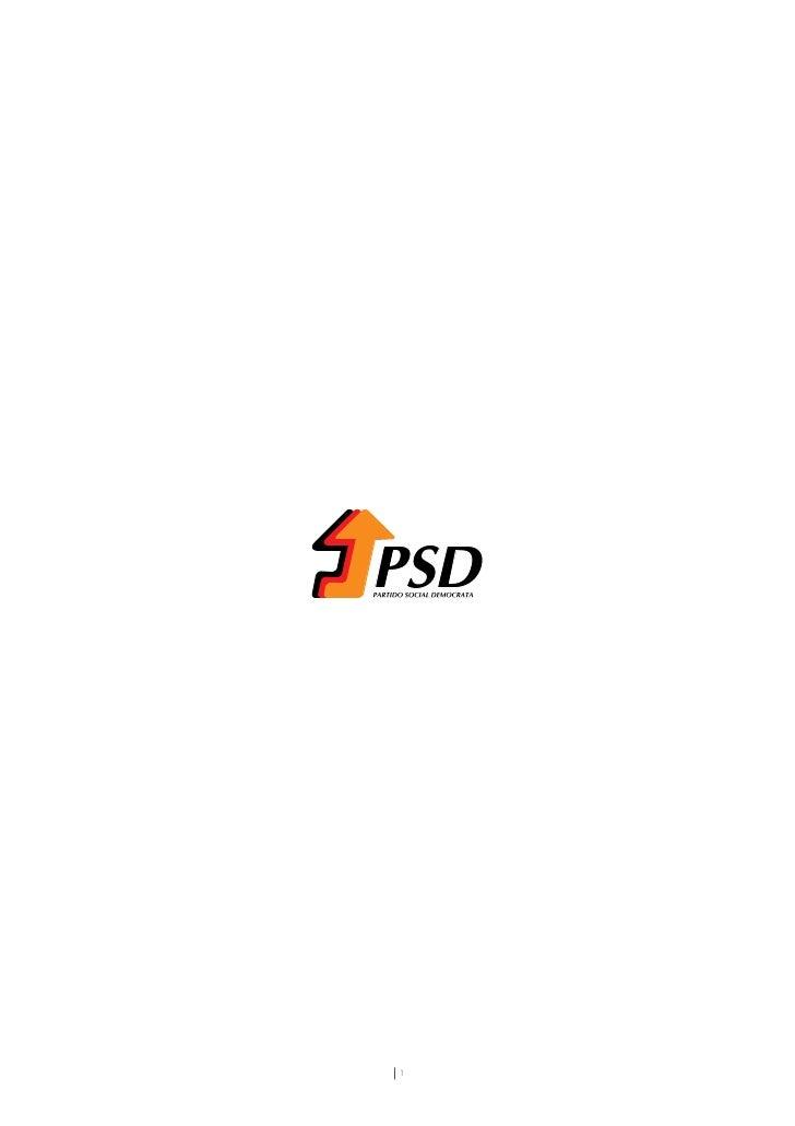 Programa PSD Legislativas 09
