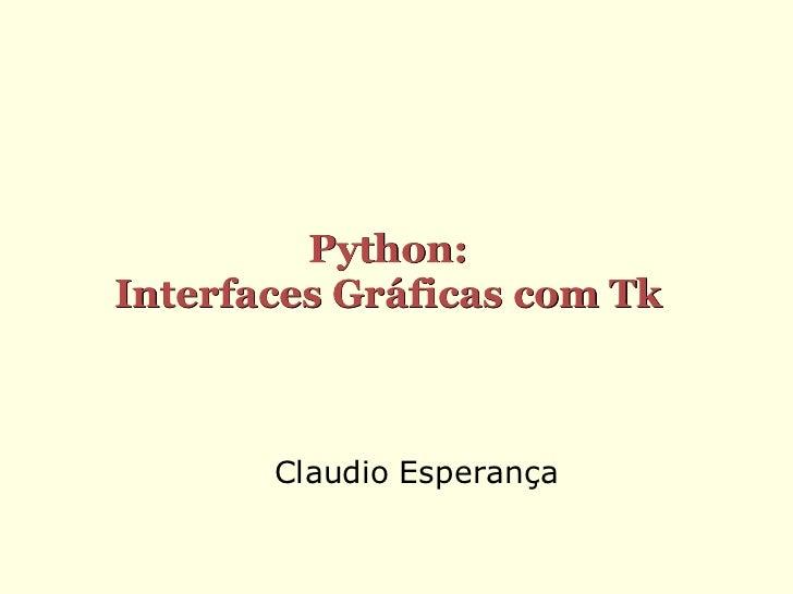 Programando em python   interfaces graficas com tk