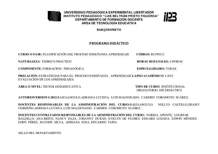 Programa planif 1 2012-1