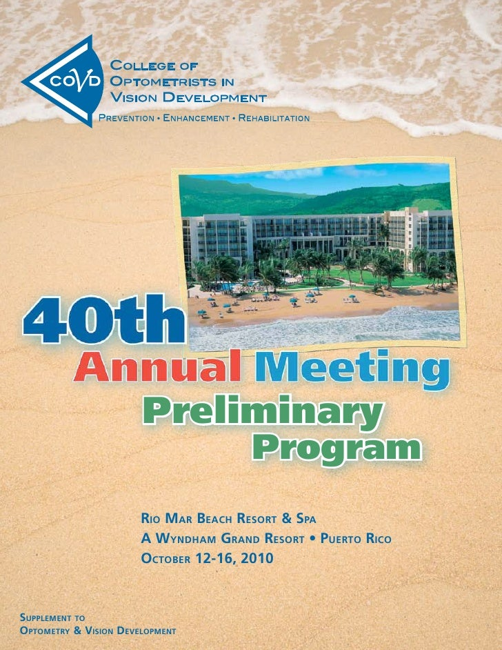 Preliminary                                       Program                        Rio MaR Beach ResoRt & spa               ...