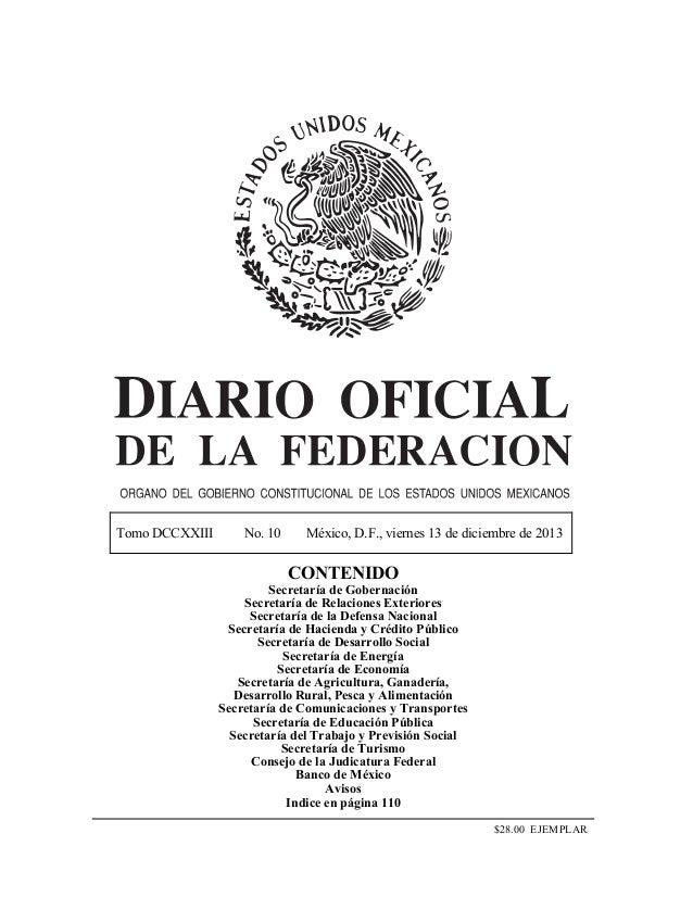Programa sectorial de educación  2013 2018  dof 13-12-12