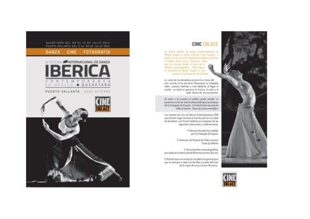 ¡Programa del IV Festival Internacional de Danza Ibérica Contemporánea en Puerto Vallarta!