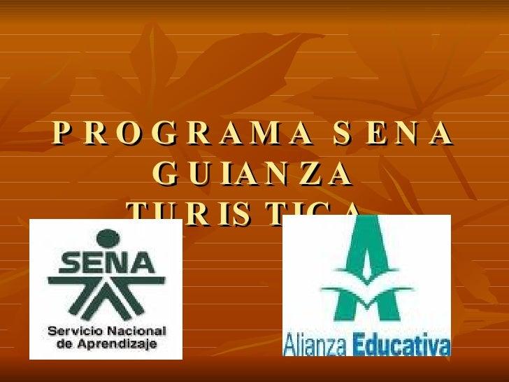 Programa Sena Guianza Turistica[1]