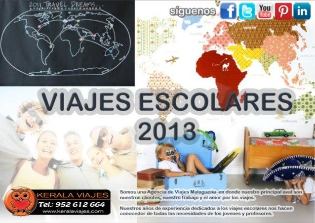 Viajes para Estudiantes 2013