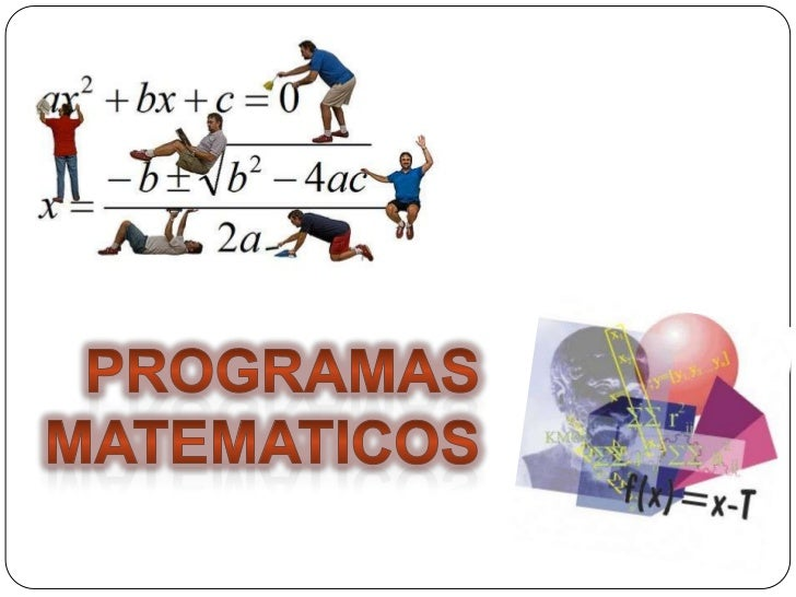 Programas matematicos