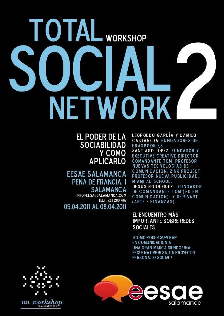 total                                   workshopSOCIAL network            El poder de la                 javier celaya. fu...