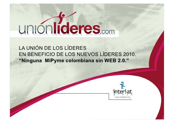 Programa Unionlideres.Com 2010