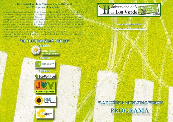 Programa Universidad Verde 2010