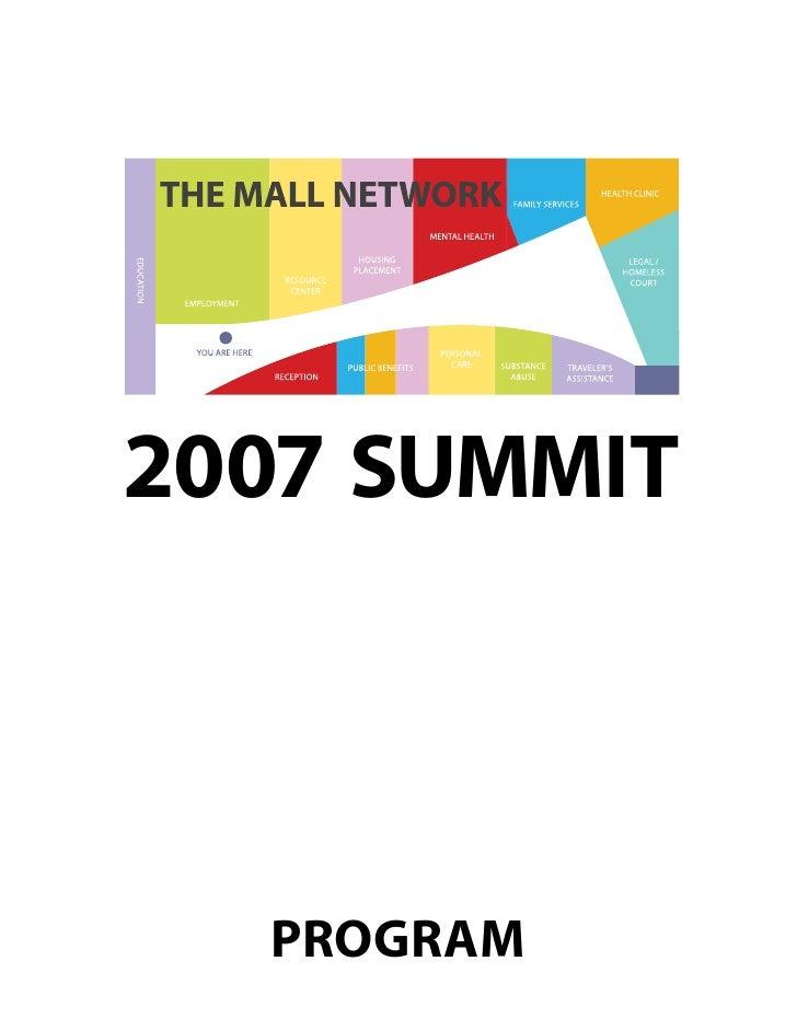 2007 SUMMIT      PROGRAM