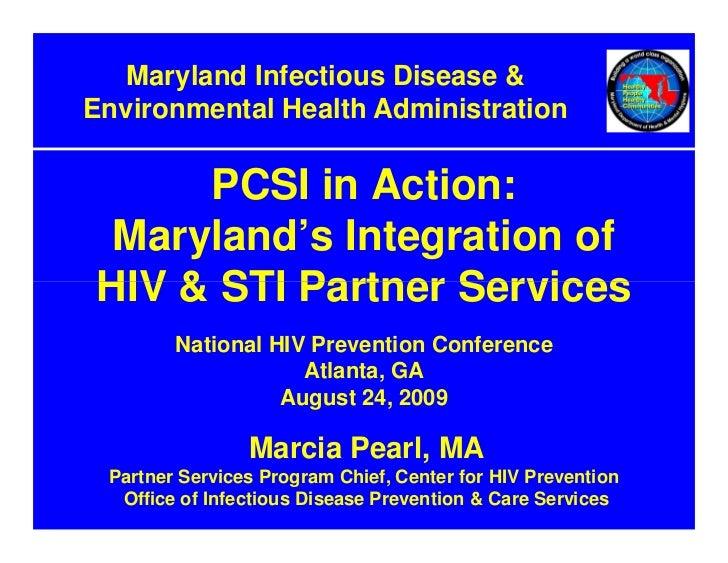 Program Collaboration And Service Integration Maryland Nhpc