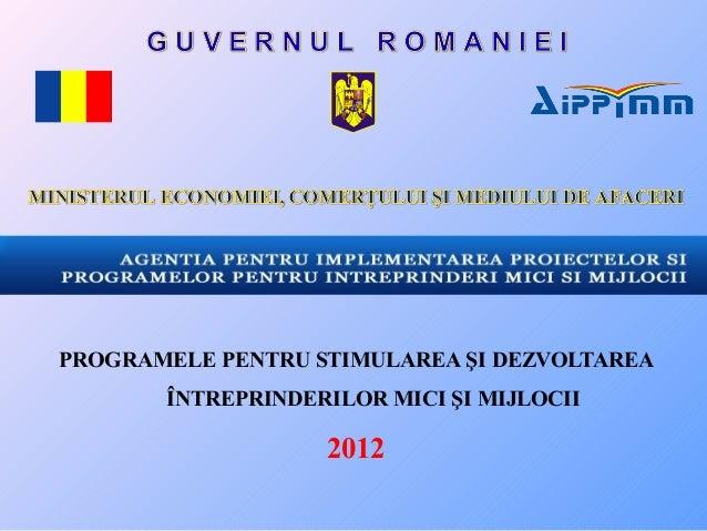 Programe nationale forum  femeia manager 2012