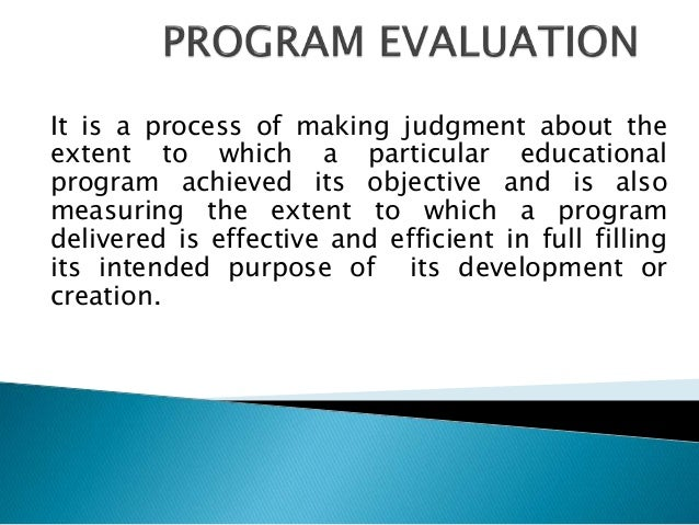 Dissertation Evaluation Program