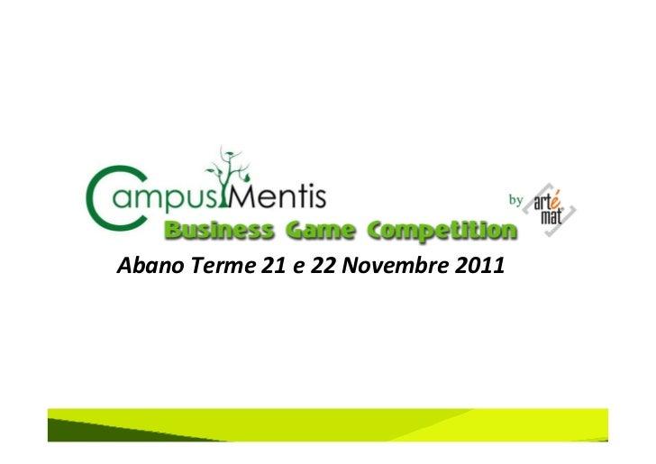 Abano Terme 21 e 22 Novembre 2011