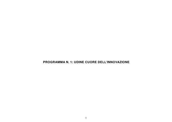 Programma 1 consuntivo 2011