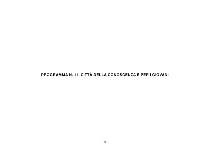 Programma 11 consuntivo 2011