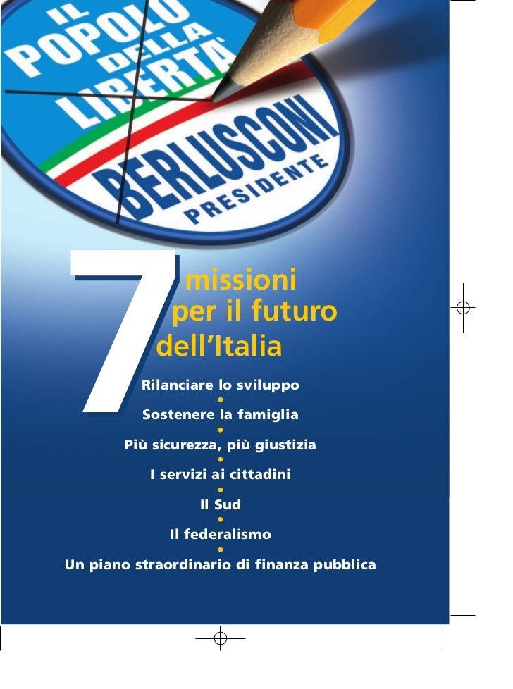 7 MISSIONI PER IL FUTURO DELL'ITALIA