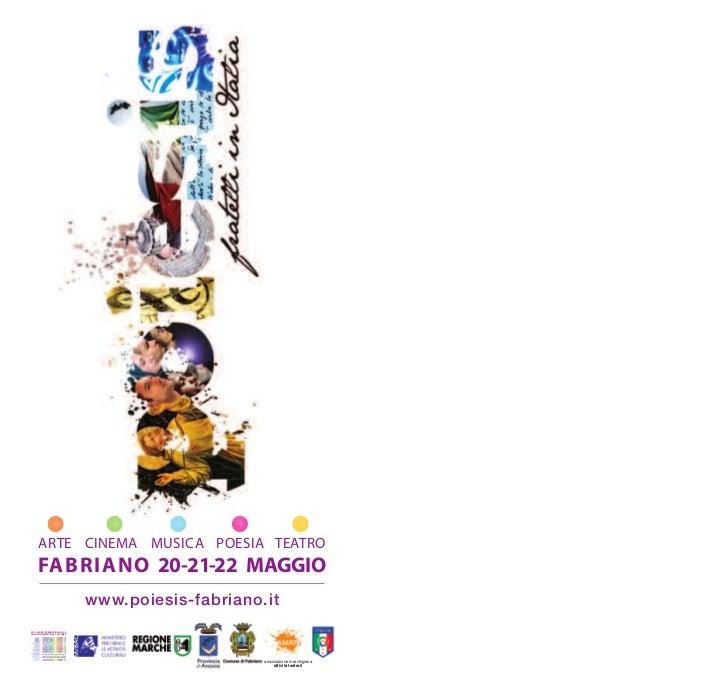 Programma 2011 poiesis