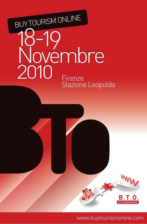 BTO – Buy Tourism Online                                    a                                 III Edizione                ...