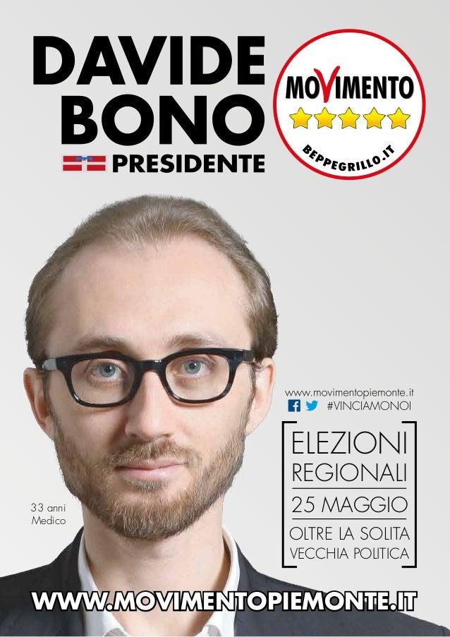 Programma elezioni regionali Piemonte 2014 Movimento 5 Stelle
