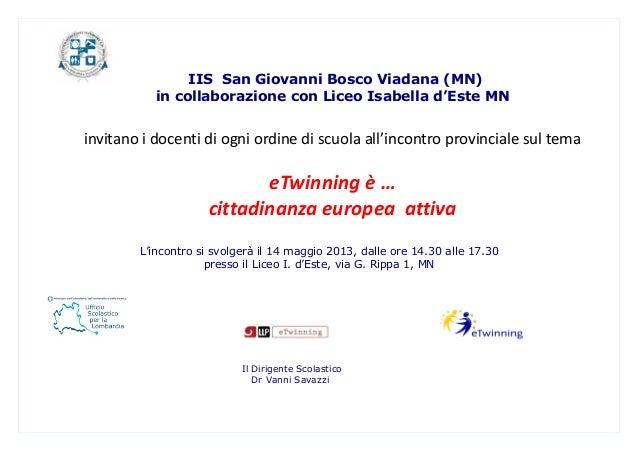 Programma etwinning 2013 mn