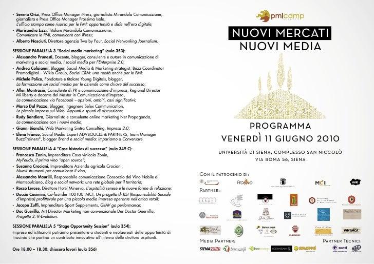 - Serena Orizi, Press Office Manager iPress, giornalista Mirandola Comunicazione,   giornalista e Press Office Manager Pross...