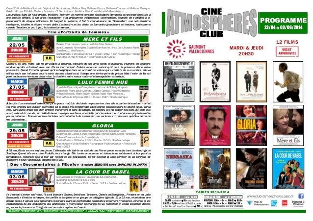 Oscar 2014 du Meilleur Scénario Original + 4 Nominations : Meilleur Film, Meilleurs Décors, Meilleure Chanson et Meilleure...