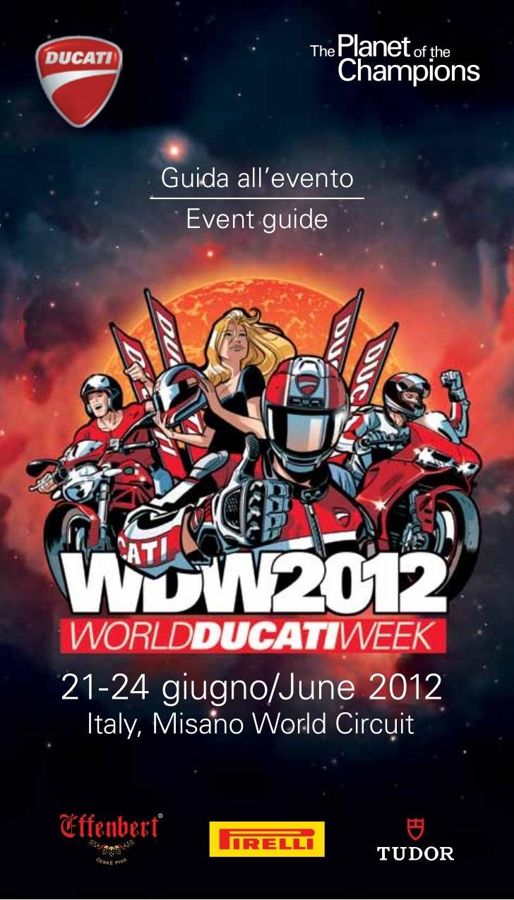 Guida all'evento  Event guide