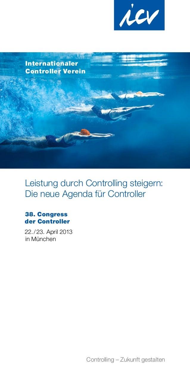 InternationalerController VereinLeistung durch Controlling steigern:Die neue Agenda für Controller38. Congressder Controll...