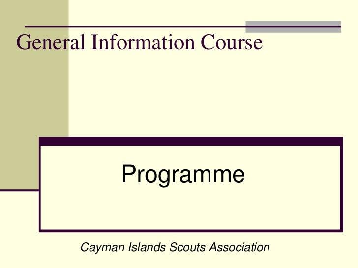 Caribbean Scout Programme