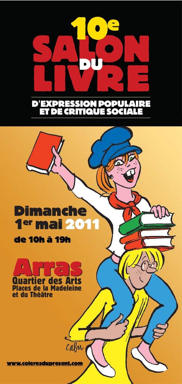 10      e        SALON          DU        LIVRE       DEXPRESSION POPULAIRE         ET DE CRITIQUE SOCIALE  Dimanche  1er ...