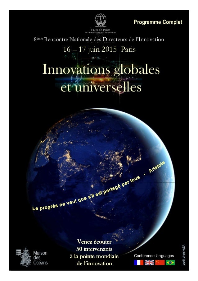 Rencontre nationale des directeurs de l'innovation download